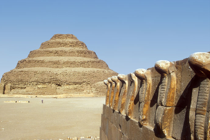 Saqqara, an ancient burial ground